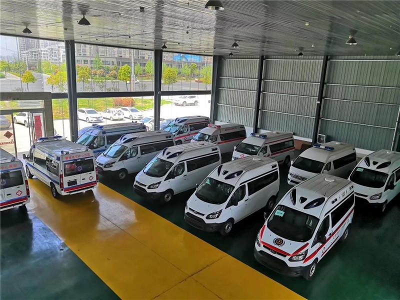 福特全順V362救護車價格-福田新全順V362救護車多少錢