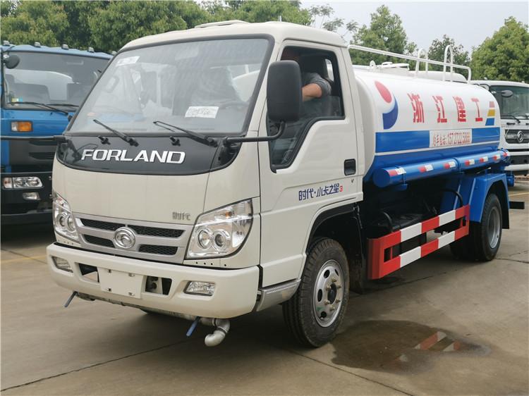 5噸灑水車_福田時代5噸園林綠化噴灑灑水車報價_價格_圖片
