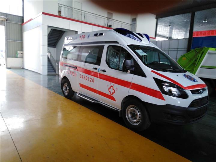 福特新全顺救护车_V362救护车价格_报价_厂家