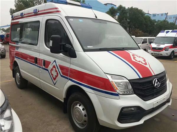 上汽大通V80新款运输型救护车哪里买多少钱