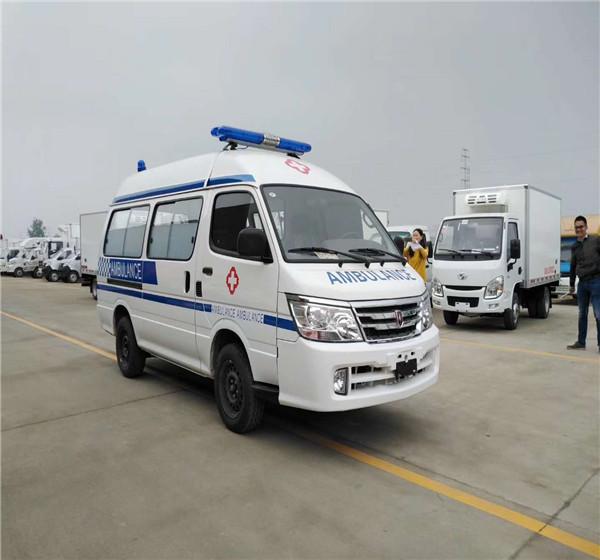 金杯小海狮高顶运输型救护车厂家供应