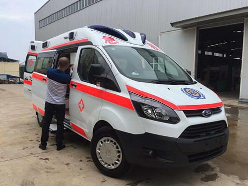 高端救护车逆变器主要起什么作用?_V348江铃福特救护车一般多少钱?