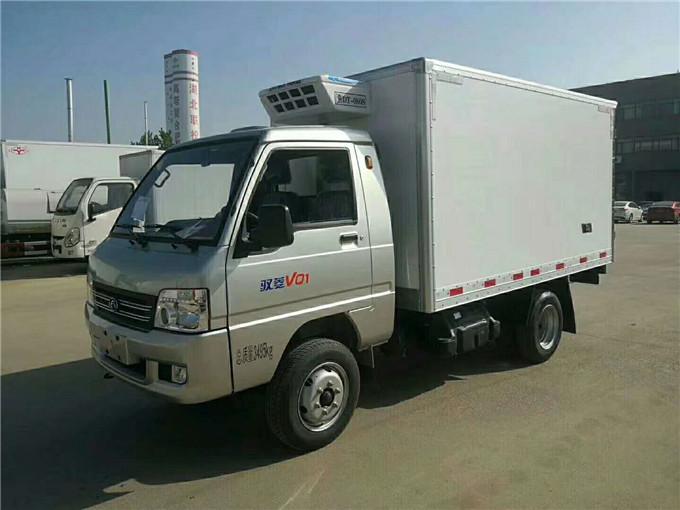 福田驭菱冷藏车价格-后双轮冷藏车多少钱—冷藏车哪里买最便宜