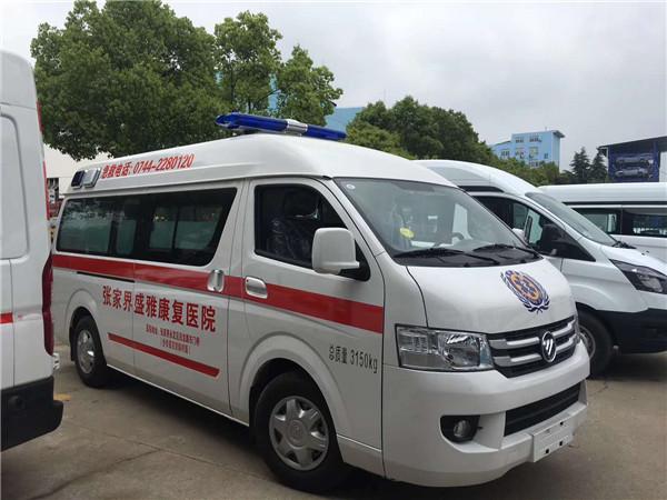福田G7运输型救护车配置图