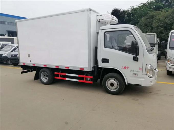 國六冷藏車搶先看-躍進冷藏車價格-3.2米冷藏車多少錢一輛