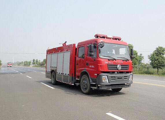 東風水罐消防車_東風6噸水罐消防車價格_報價_廠家_配置