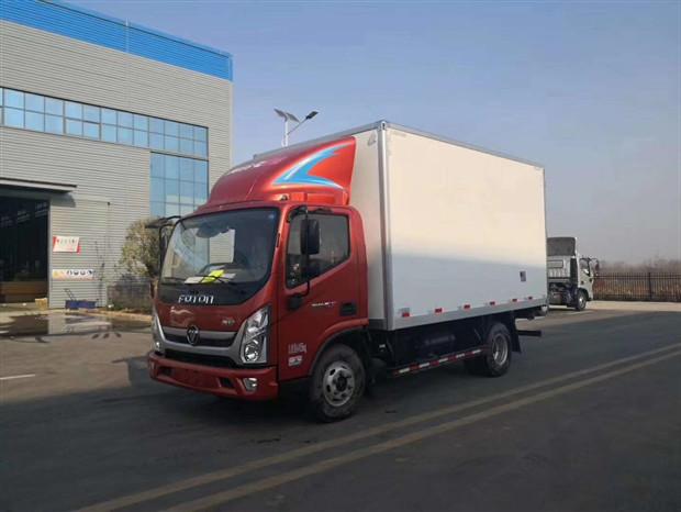 福田奧鈴CTS冷藏車-福田奧鈴4米2冷藏車報價-不超重的藍牌冷藏車