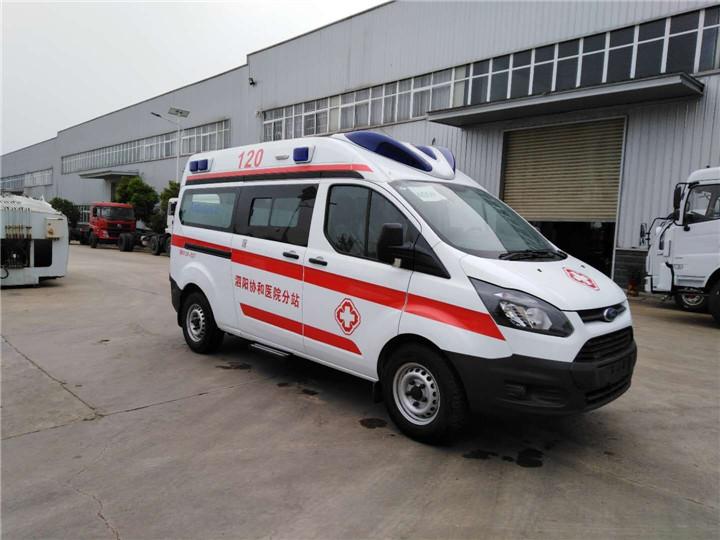 新全顺V362救护车厂家、配置
