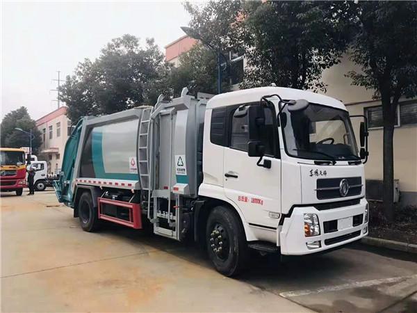 东风天锦分捡垃圾运输车厂家价格