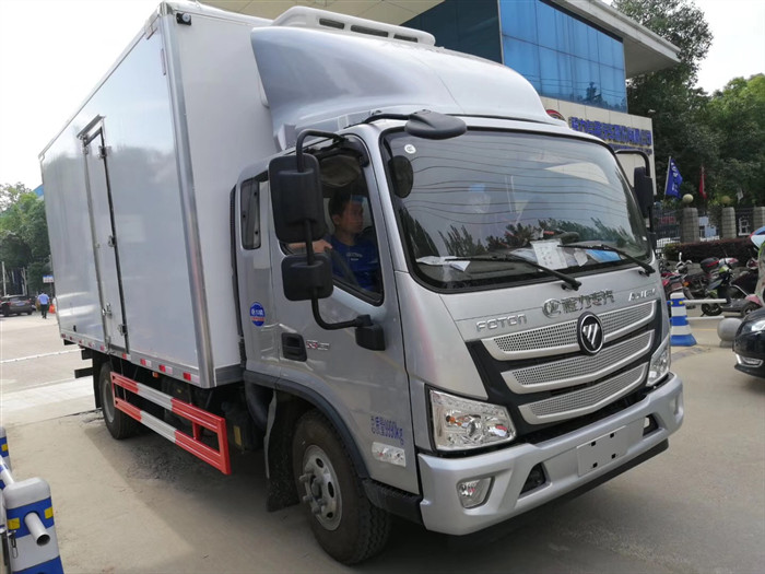 福田欧马可冷藏车厂家价格-福田欧马可5米2冷藏车报价-福田欧马可排半冷藏车价格 配置 图片