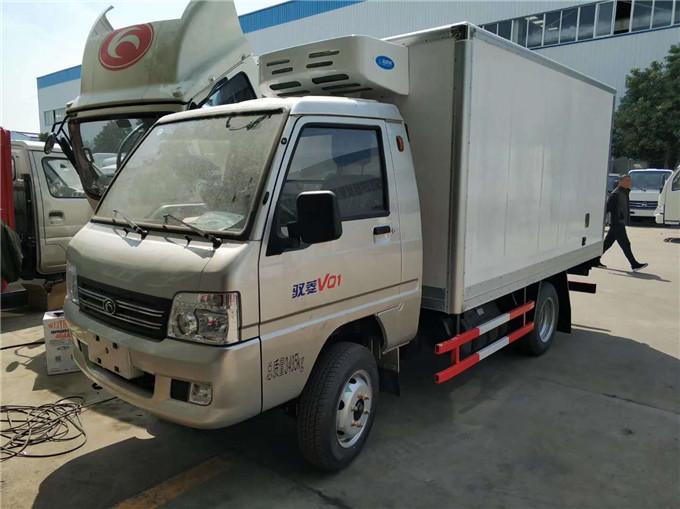 2米6小型厢式冷藏车多少钱一辆_福田驭菱冷藏车价格_厂家直销
