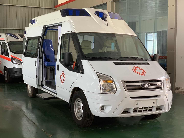 程力集團推出高端國六福特V348救護車全系