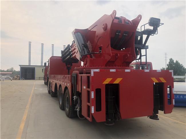 200吨后置随车吊PK江威后置随车吊100吨