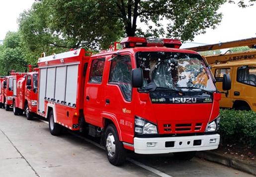 消防車廠家推薦村鎮及社區消防專用消防車