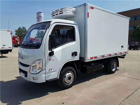 国六跃进小福星3.2米冷藏车率先上市,满足上户要求给您最实在的价格