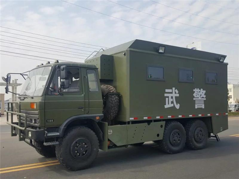 东风6驱自行式炊事车厂家报价_价格_配置_图片