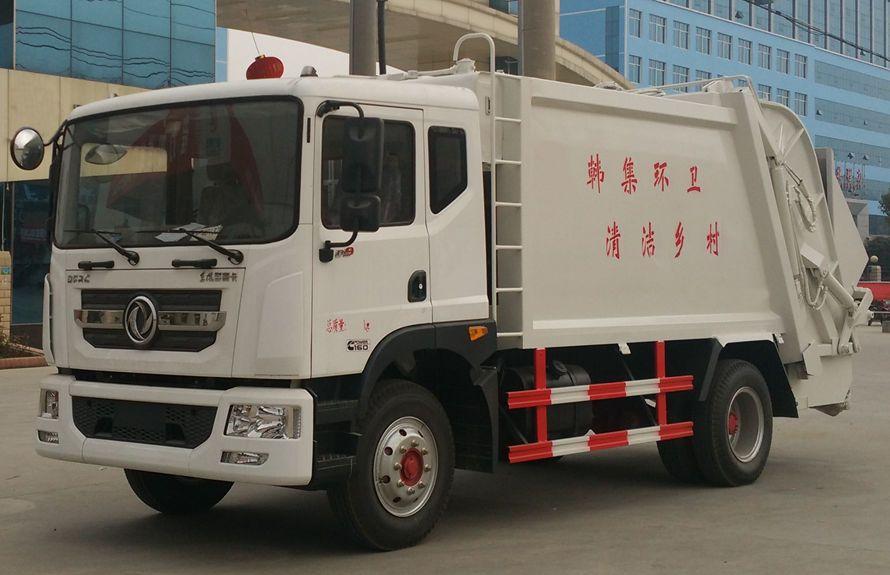 东风多利卡D9系列压缩式垃圾车