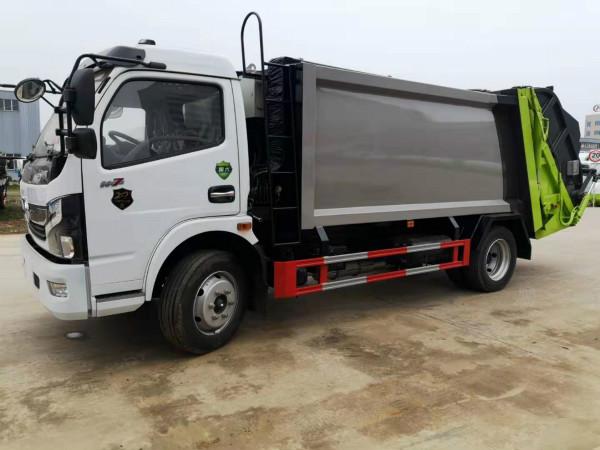 东风国六8方压缩式垃圾车