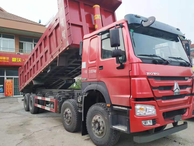豪沃8.5米自卸車促銷