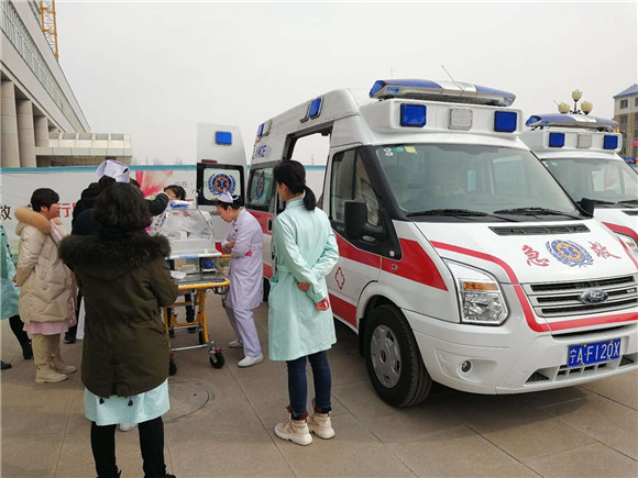 母婴救护车_福特全顺V348母婴救护车厂家