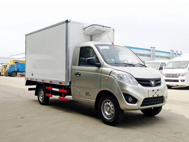 福田伽途藍牌冷藏車_小型冷藏車