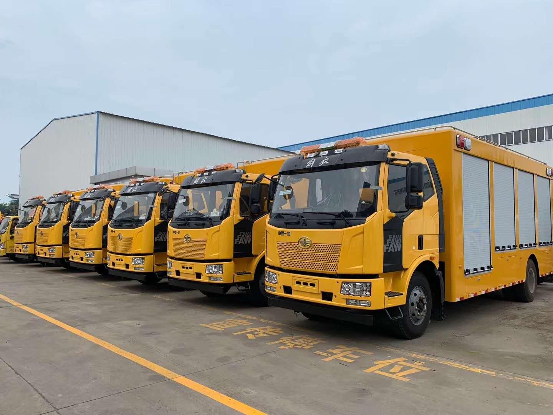 解放J6工程救援車-解放J6工程救援車生產廠家-軌道交通