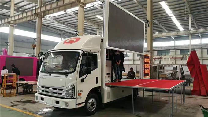 福田廣告宣傳車多少錢一輛-LED廣告宣傳車廠家