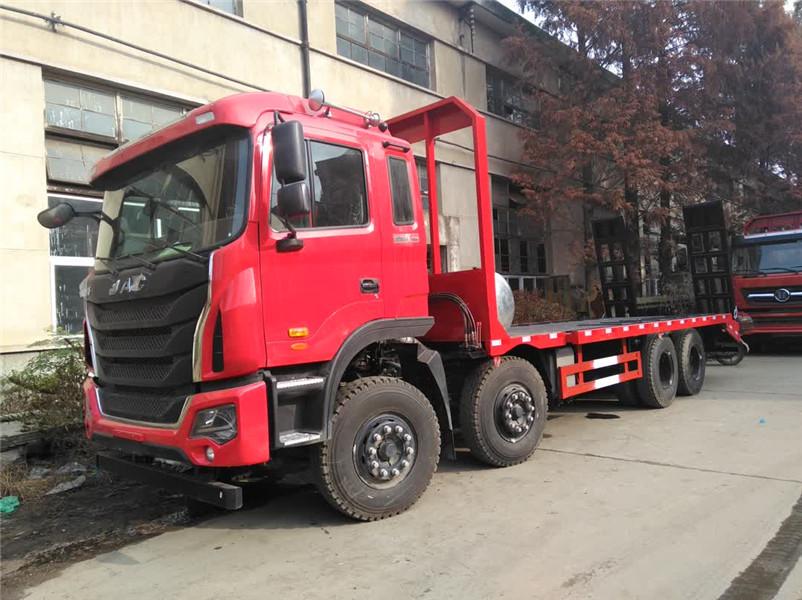 36吨拉挖机平板运输车