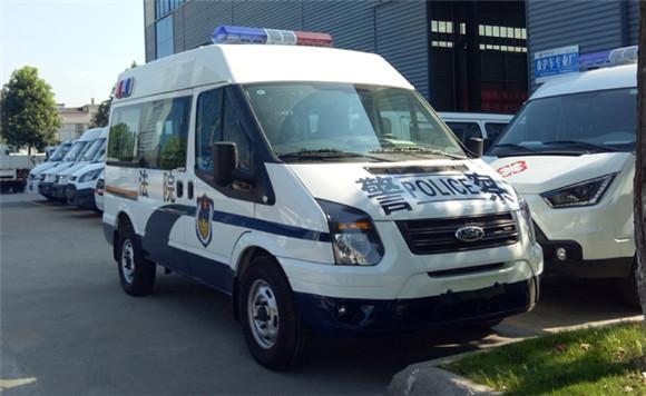 福特V348警用15座囚車價格_廠家