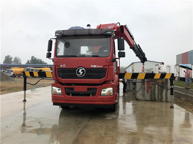 全折20吨陕汽随车吊陕汽牌SX5310JSQHB466型随车起重运输车