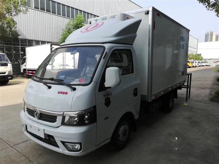 国六东风途逸3米5冷藏车报价_3.5米国六途逸小型冷藏车价格_配置_图片