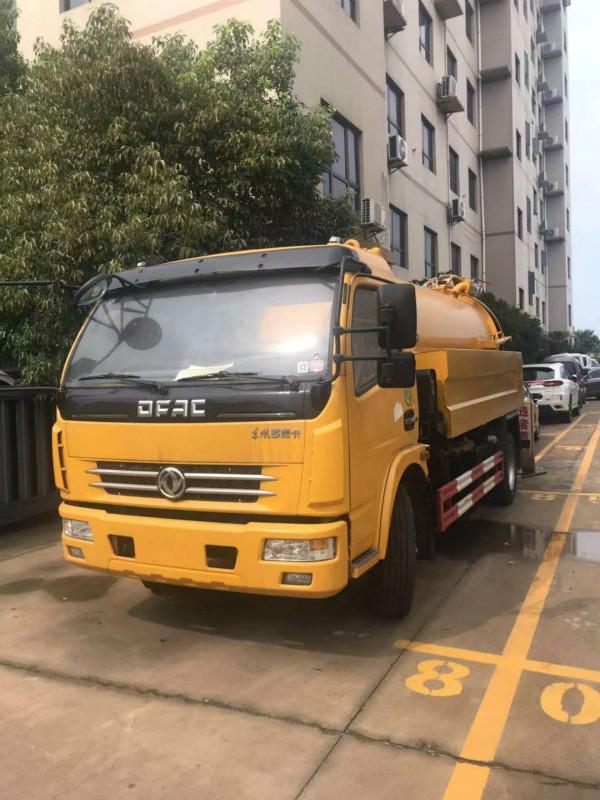 8吨多利卡清洗吸污车多少钱_厂家?