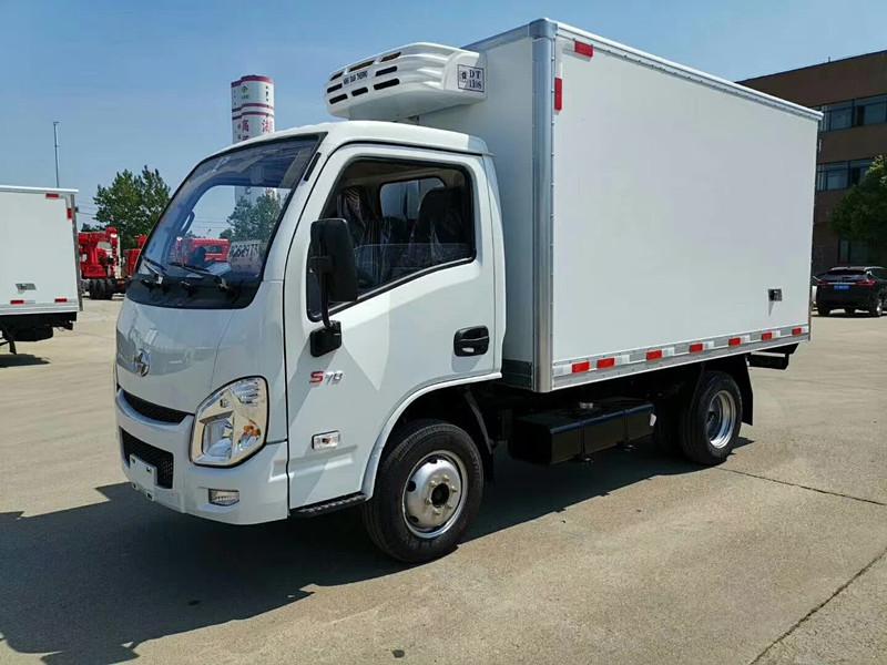 國六3.3米箱體躍進小福星汽車冷藏車價格走勢