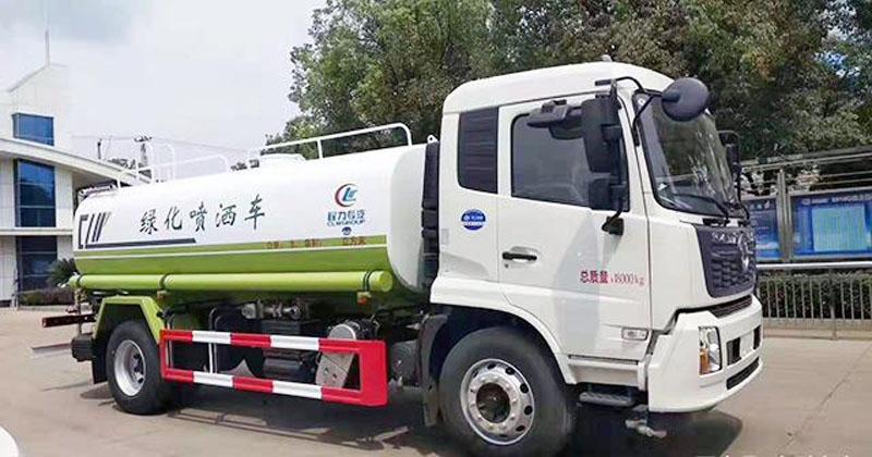 國六15噸東風天錦210大馬力灑水車最新報價