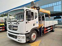 8噸東風多利卡D9隨車吊廠家直銷價格