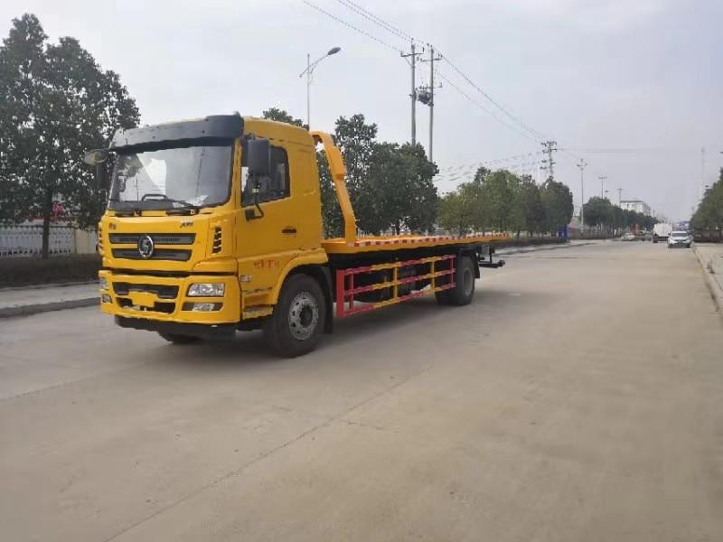 陜汽軒德8噸平板型道路救援清障車的配置