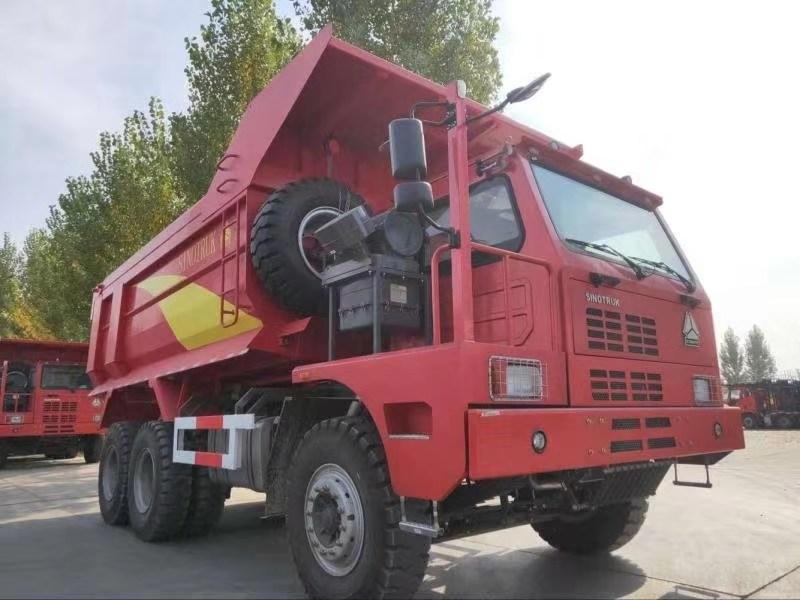 豪沃6米矿山霸王自卸车整车配置