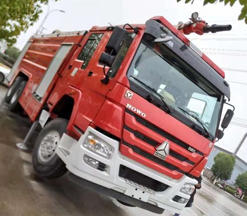 張家口市消防支隊崇禮冬奧進口消防車輛