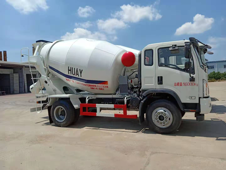 大运6方搅拌车配置美国萨利油泵马达