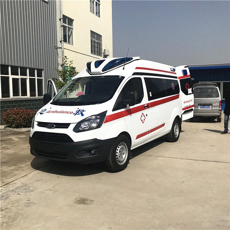 江铃福特全顺v362j救护车批量生产批量出口