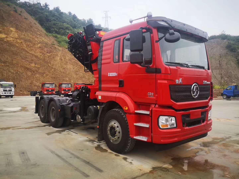 厂家直销陕汽牵引头三一30吨折臂随车吊