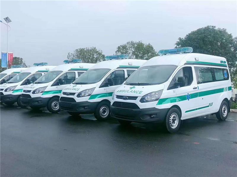 國六江鈴福特新全順V362救護車批量采購價格、多少錢