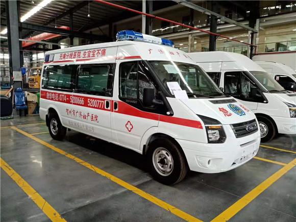 江鈴福特v348長軸中頂運輸型救護車特價銷售
