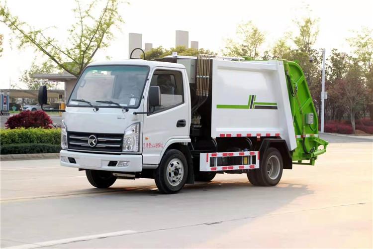 凱馬藍牌壓縮式垃圾車_凱馬4方藍牌壓縮垃圾車價格_報價_廠家_圖片_多少錢