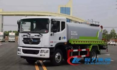 程力集团12方洒水车—东风天锦12方洒水车配置功能