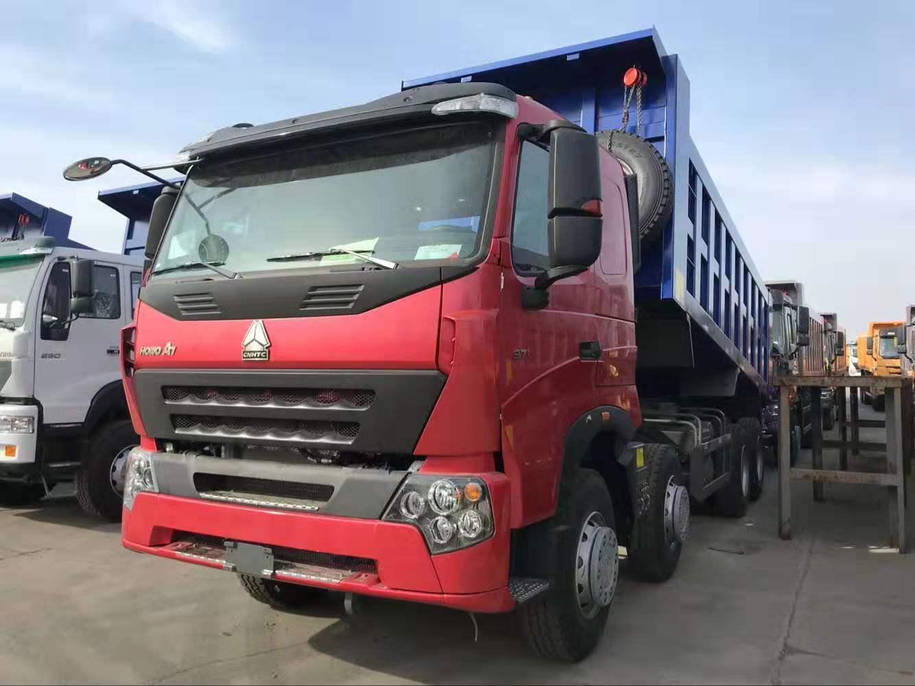 豪沃A7出口車6.5米大箱