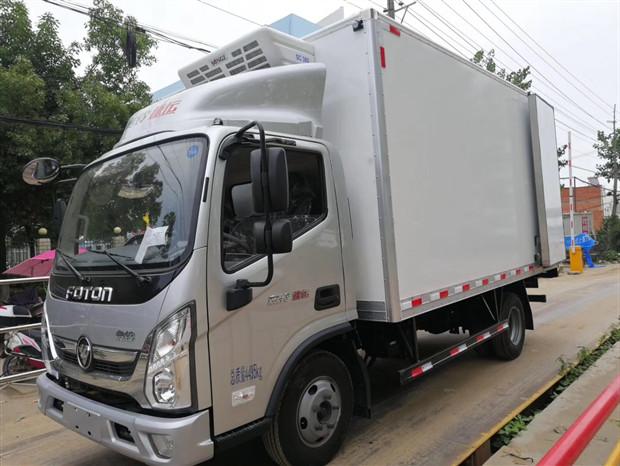 福田奧鈴速運4.2米冷藏車廠家直銷