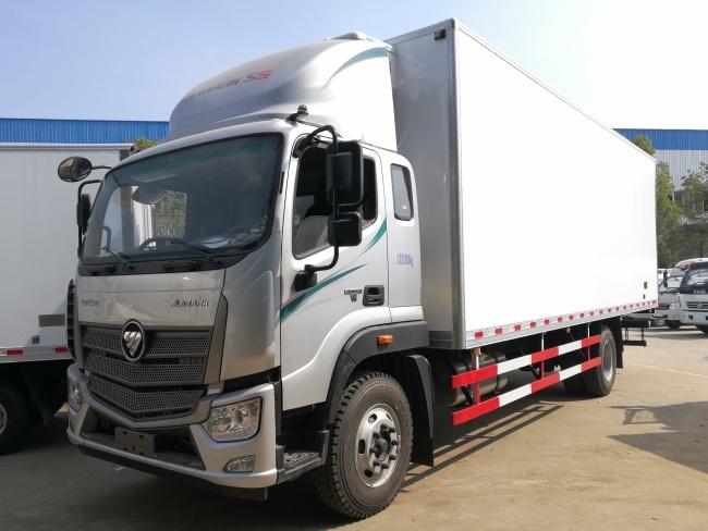 福田歐馬可S5(7.6米)冷藏車廠家直銷