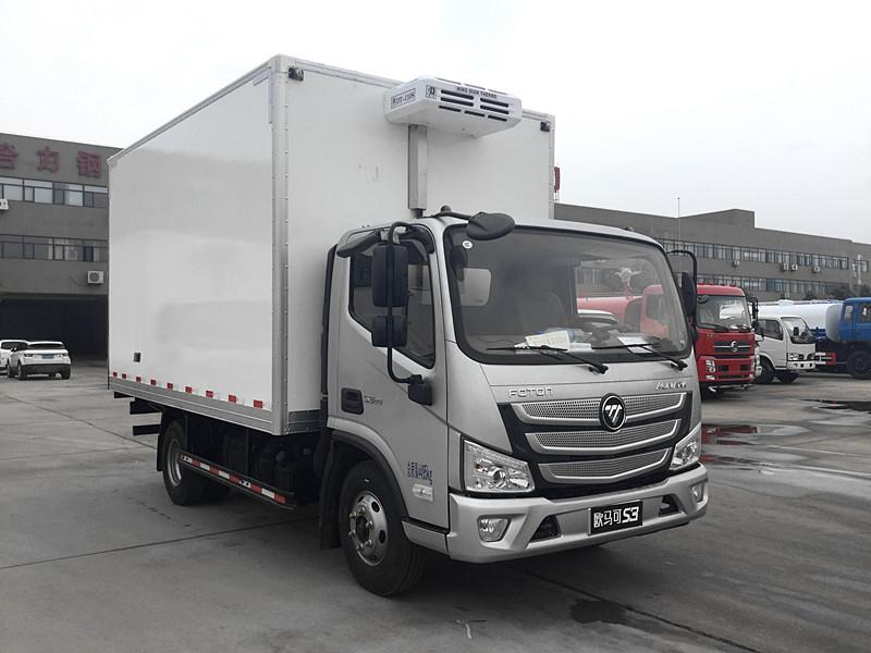 福田欧马可s34.2米冷藏车厂家供应
