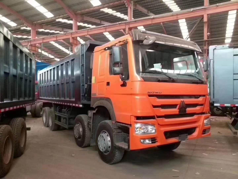 豪沃7.3米自卸车国二可出口